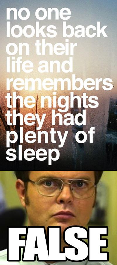 Ever met a chronic insomniac?